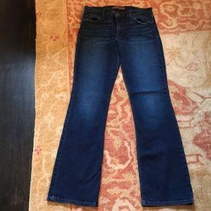 Joes jeans size 29 dark rinse boot leg cut super
